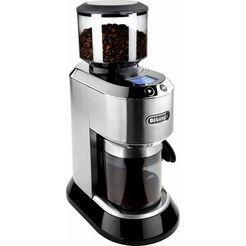de'longhi koffiemolen dedica kg521.m inclusief filteradapter zilver