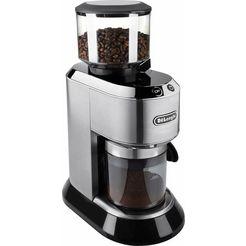 de'longhi koffiemolen dedica kg520.m inclusief filteradapter zilver