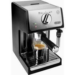 de'longhi espresso-apparaat ecp 35.31, zilverkleur-zwart, 15 bar zilver