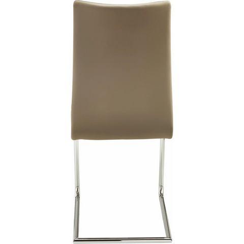 Vrijdragende stoel in set van 2