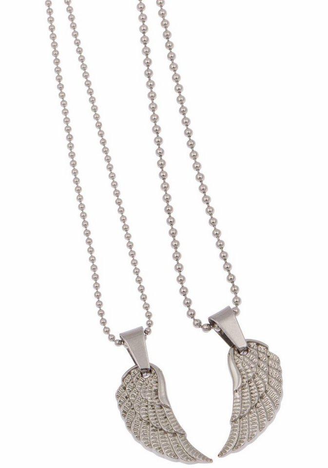 FIRETTI ketting en hanger set »Vleugel« (set 4-dlg.)