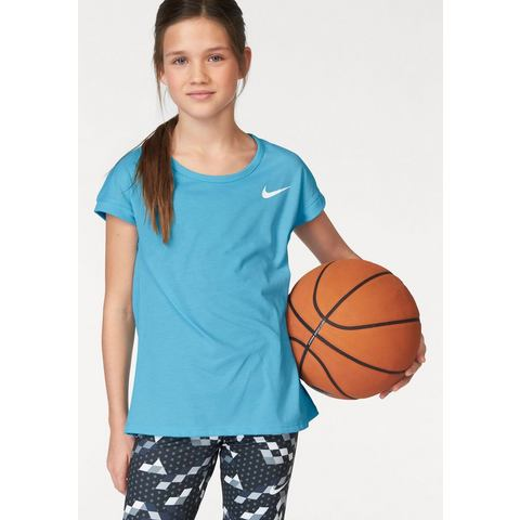 NU 20% KORTING: NIKE functioneel shirt »GIRL NIKE TOP SHORTSLEEVE«