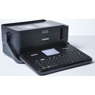 brother labelprinter »p-touch d800w desktop beschriftungsgeraet« zwart