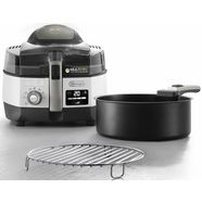 delonghi heteluchtfriteuse  multicooker multifry extra chef plus fh1396-1, wit wit