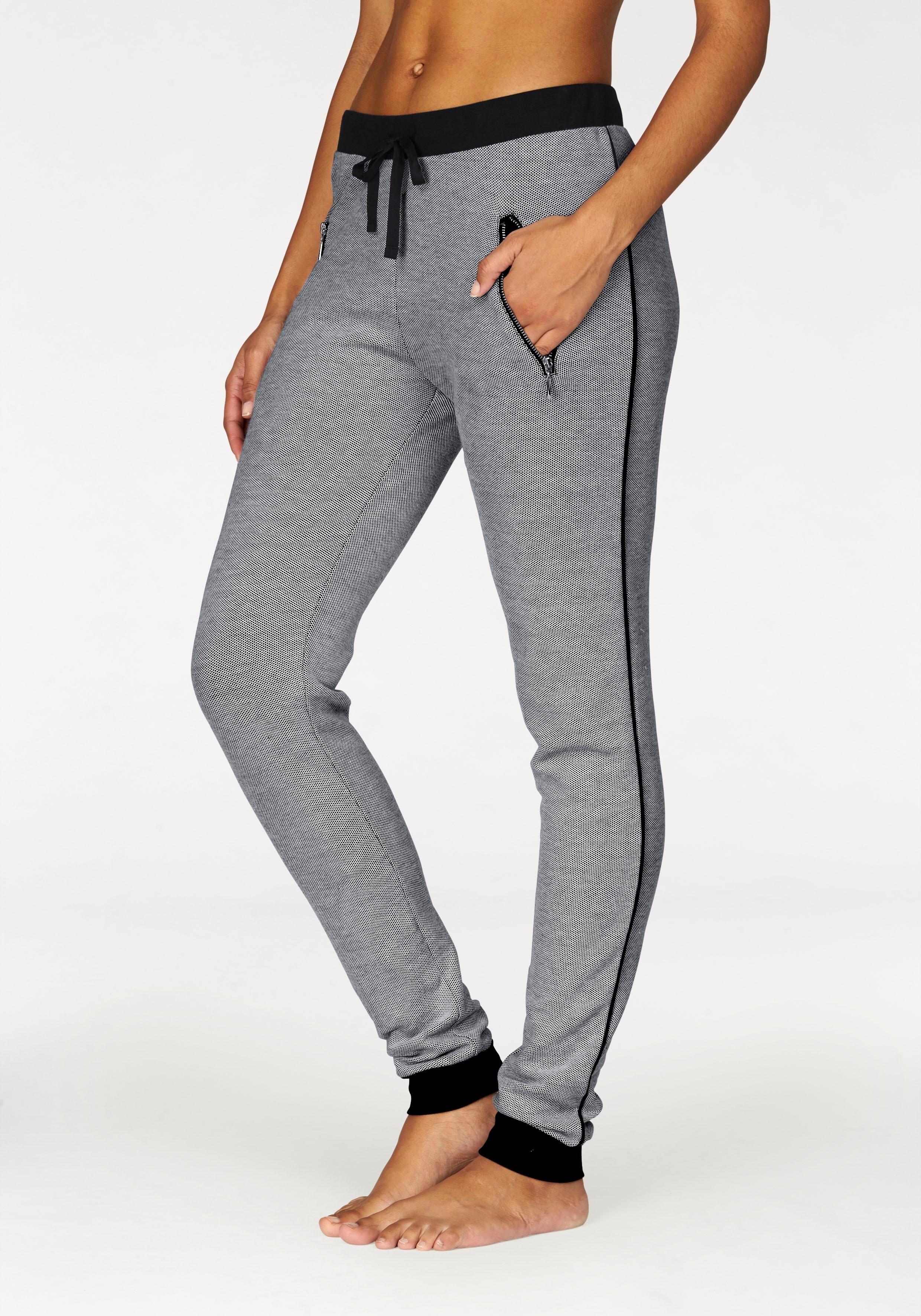 Bench. chique workout-broek van jacquardstof nu online kopen bij OTTO