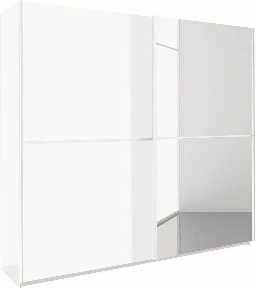 RAUCH zweefdeurkast met spiegeldeur