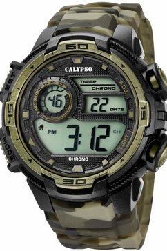 calypso watches chronograaf »k5723-6« groen