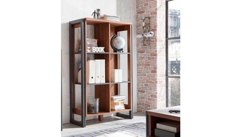 HOME AFFAIRE open kast »Detroit«, hoogte 140 cm, in trendy ...