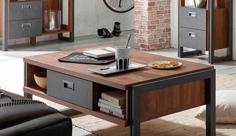 Salontafel online kopen al vanaf 59 99 otto for Couchtisch industrial look