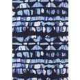 lascana bandeaubikini met beugels blauw