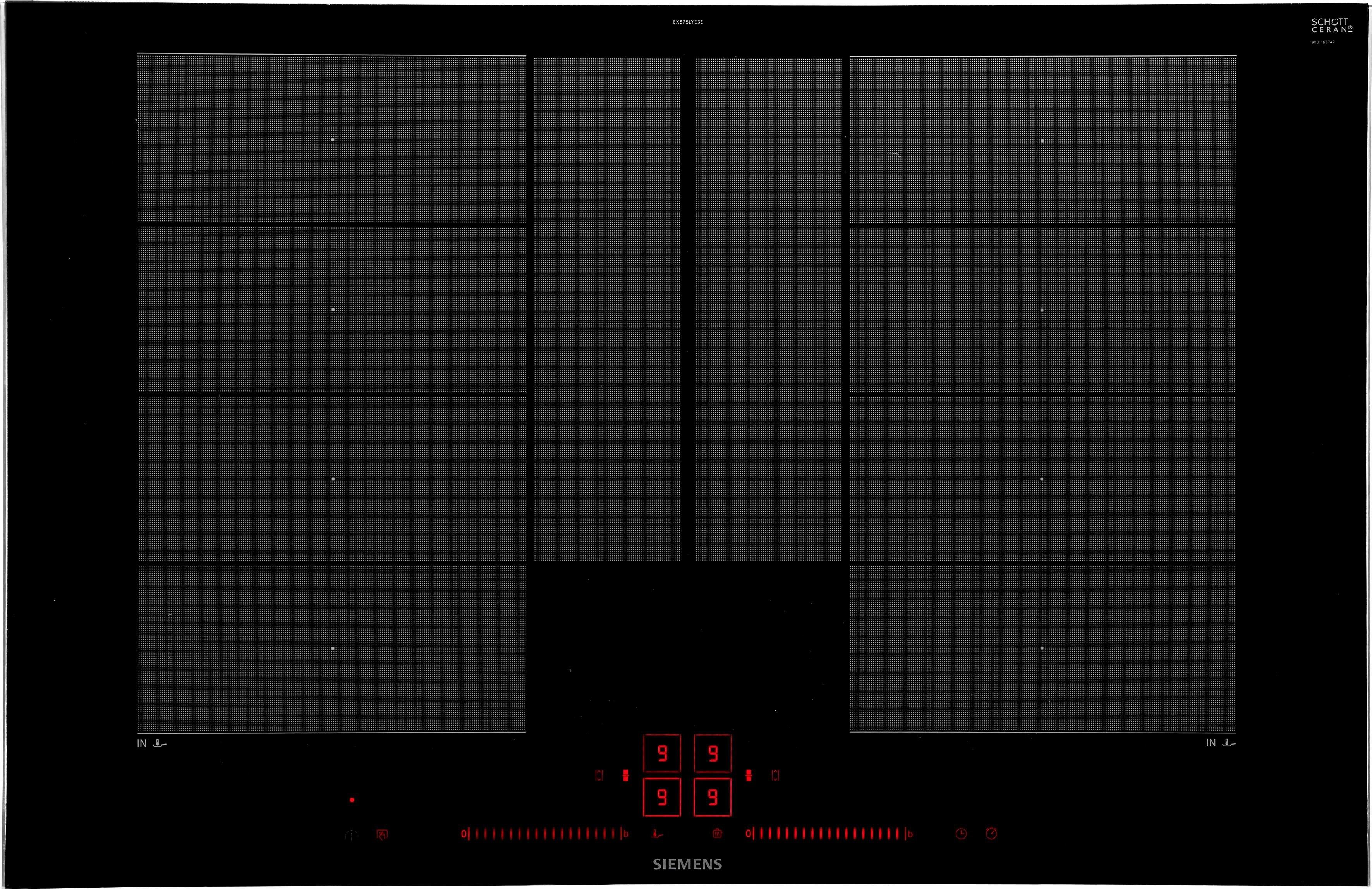 siemens flex inductiekookplaat iq700 ex875lye3e online bestellen otto. Black Bedroom Furniture Sets. Home Design Ideas