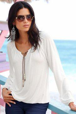s.oliver red label beachwear strandshirt beige