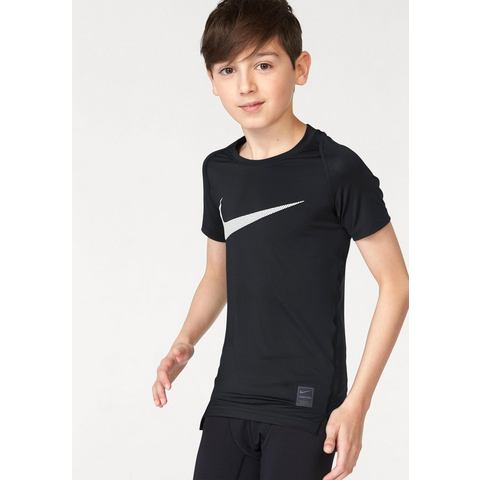 NU 20% KORTING: NIKE functioneel shirt »COOL HBR COMPRISSION SHORT SLEEVE YOUTH«