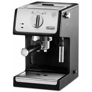 de'longhi espresso-apparaat ec 33.21, zilverkleur-zwart, 15 bar zilver