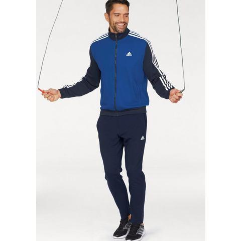 Fitnesstrainingspak voor heren blauw