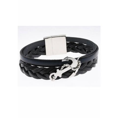 NU 15% KORTING: FIRETTI leren armband »Anker«