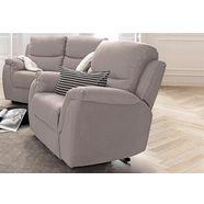 atlantic home collection relaxfauteuil, met binnenvering grijs