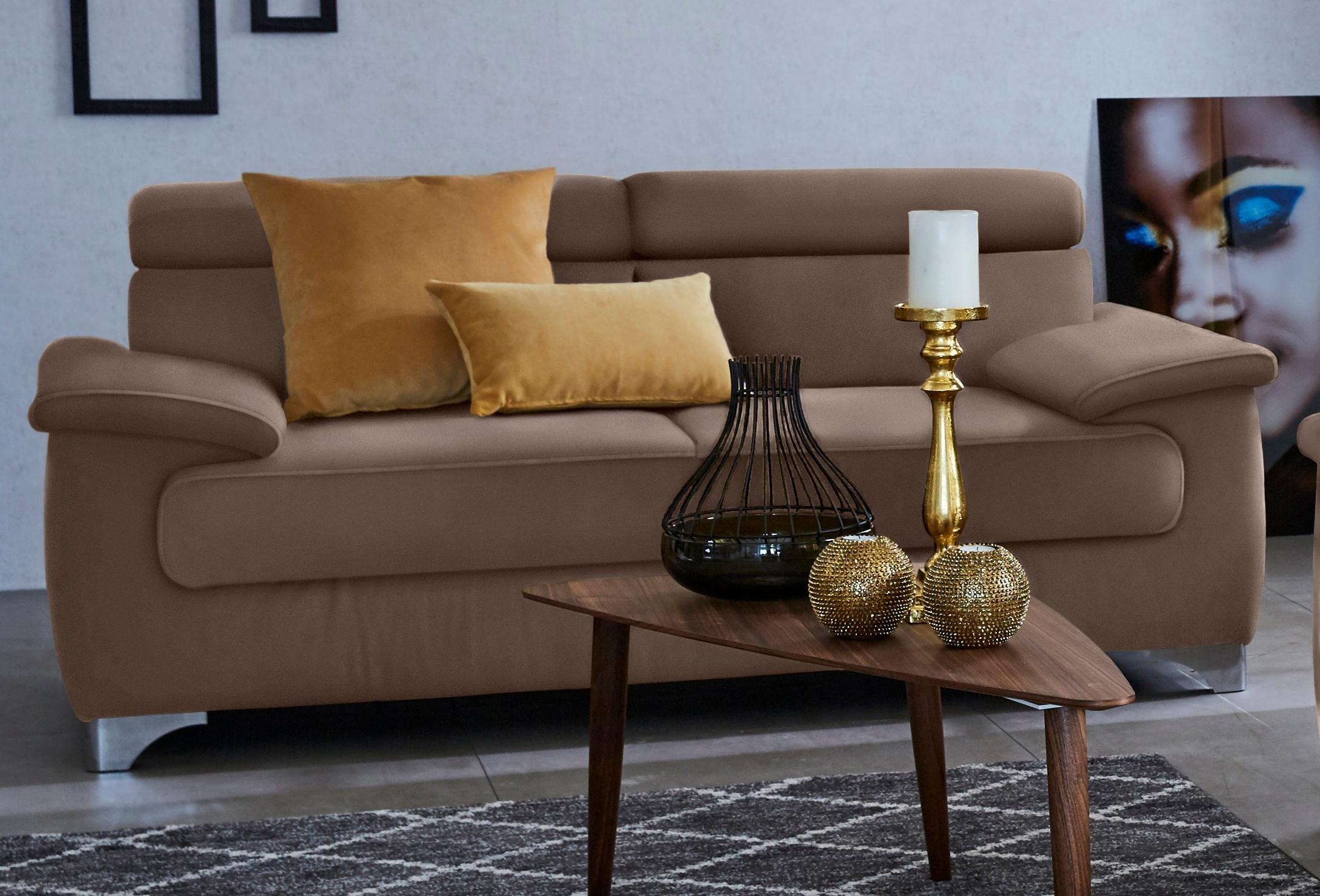 Domo Collection 2-zitsbank, inclusief verstelbare rugleuning nu online bestellen