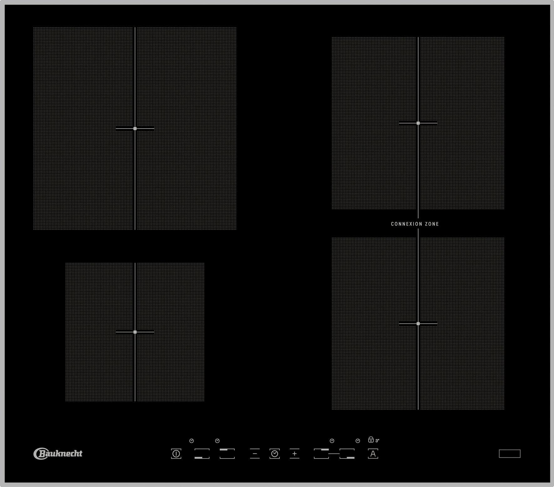 Bauknecht inductiekookplaat CTAI 9640C IN bestellen: 30 dagen bedenktijd