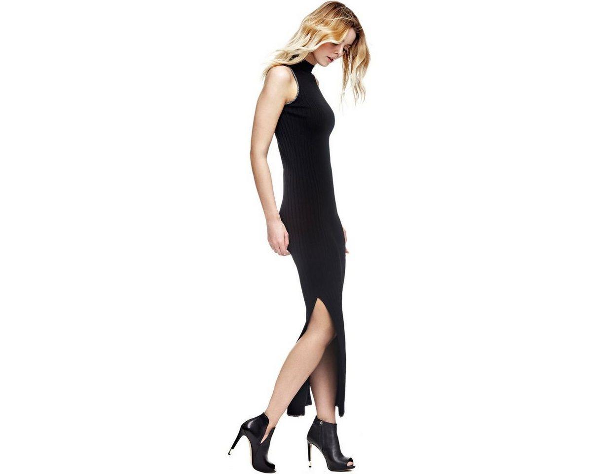 Guess jurk met glitterdetails zwart