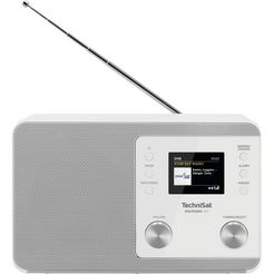 technisat digitale radio (dab+) 307 wit