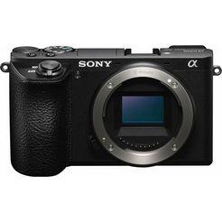sony ilce-6500 system-camera, 24,2 megapixel, 7,5 cm (3 inch) display zwart