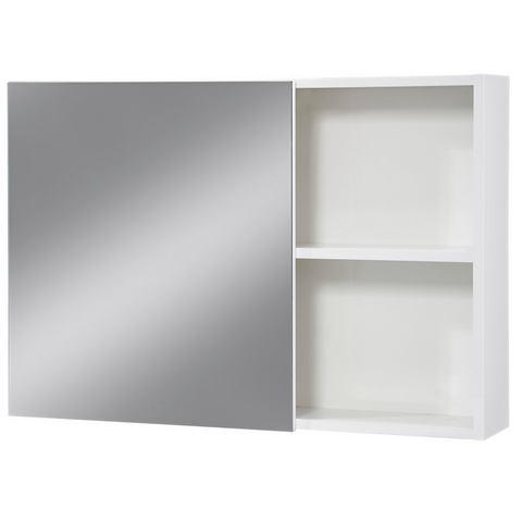 ORISTO kast Opal witte badkamer spiegelkast 22