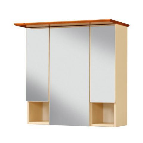 kast Venezia rustiek Sund gele badkamer spiegelkast 64
