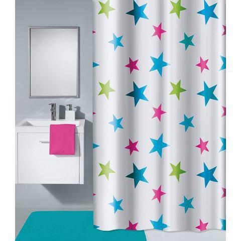 Badkameraccessoires Douchegordijn Star 669961 multicolor