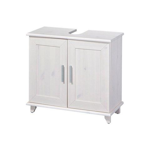 Wasbakonderkast »Rügen« witte badkamer onderkast 226