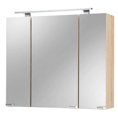 kast Roma goudkleurige badkamer spiegelkast 67