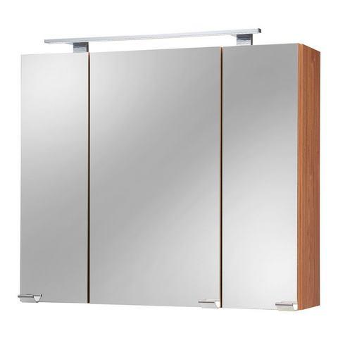 kast Roma bruine badkamer spiegelkast 63