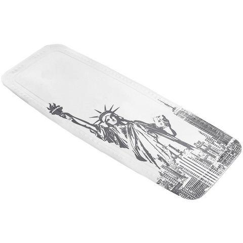 Badkameraccessoires Badkuipmat Liberty 290982 zilver