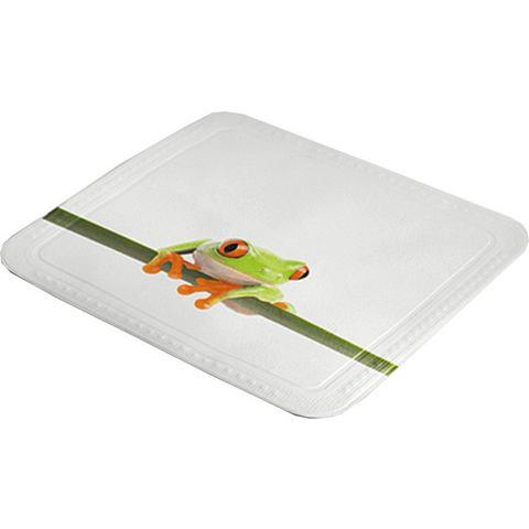 Badkameraccessoires Douchebakmat Frog 338094 groen