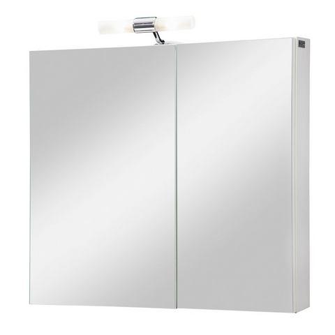 AQUAFORM kast Helsinki 65 cm witte badkamer spiegelkast 59