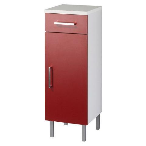 Onderkast »Barcelona« rode badkamer onderkast 169