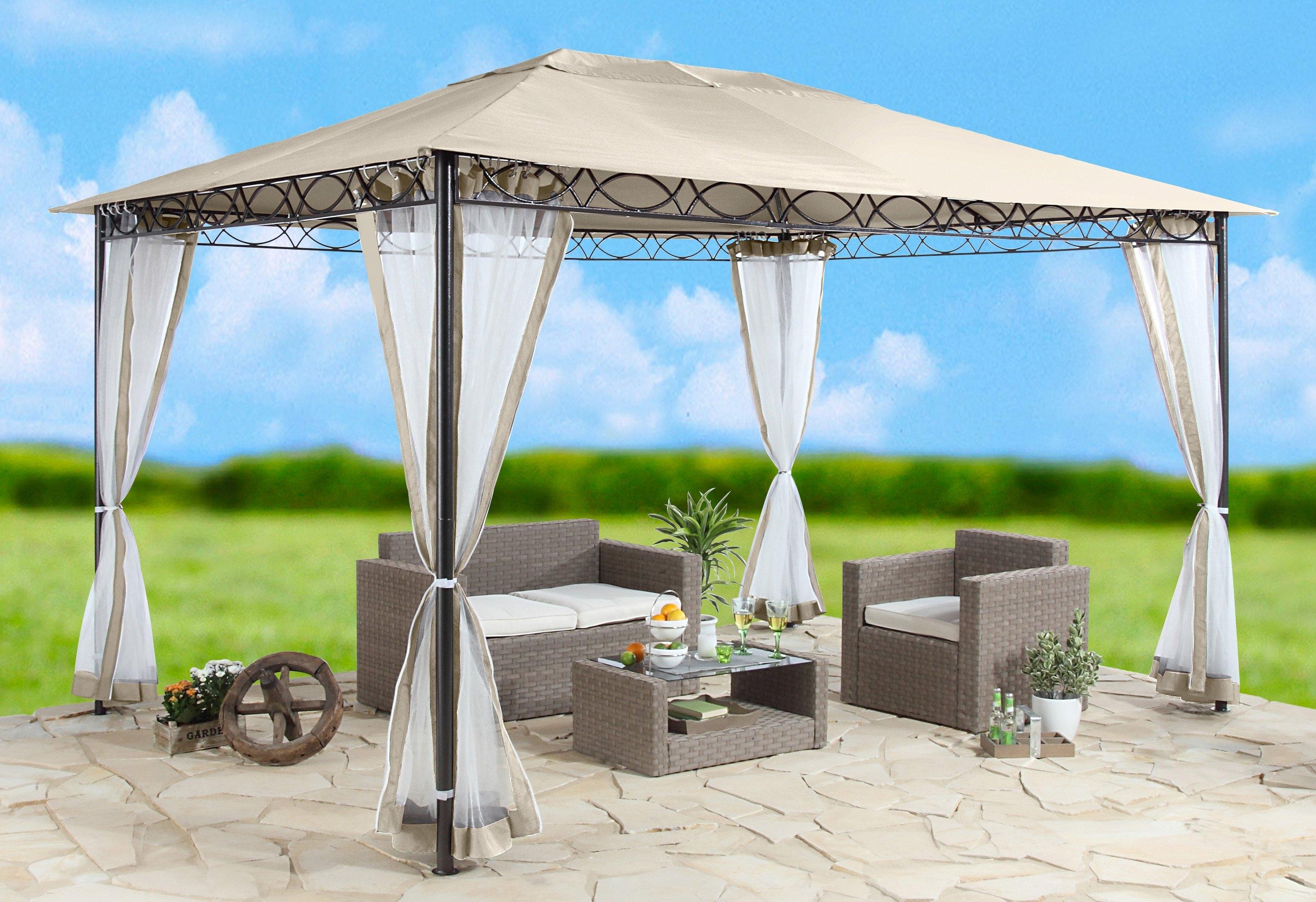 Zijkanten voor tuinprieel »«Stijl», zandkleur« in de webshop van OTTO kopen