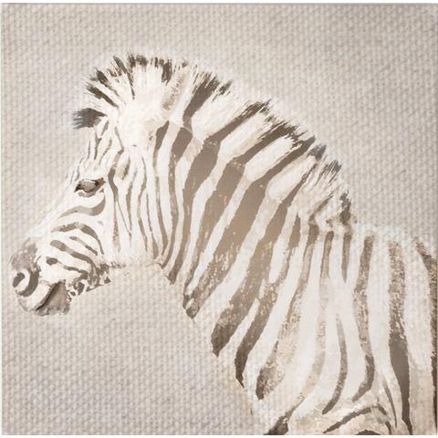 Graham & Brown Strepen Canvas Grijs 50 x 50 cm