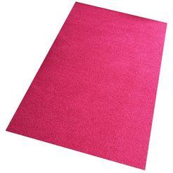 vloerkleed, living line, »shaggy pulpo«, geweven roze