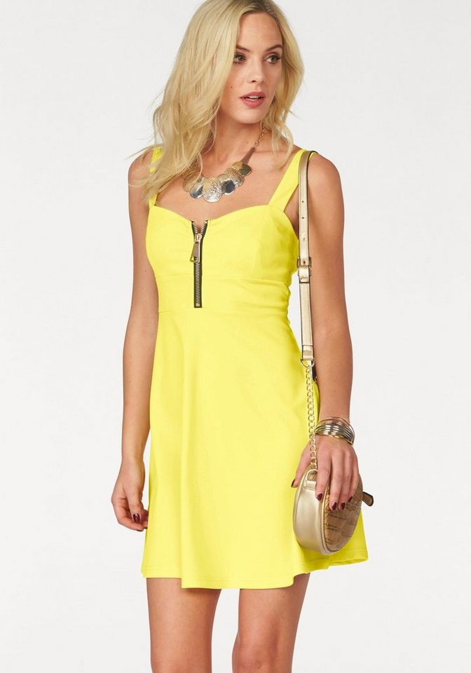 Melrose jerseyjurk geel