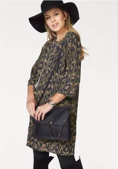VERO MODA gedessineerde jurk »ROWENA«