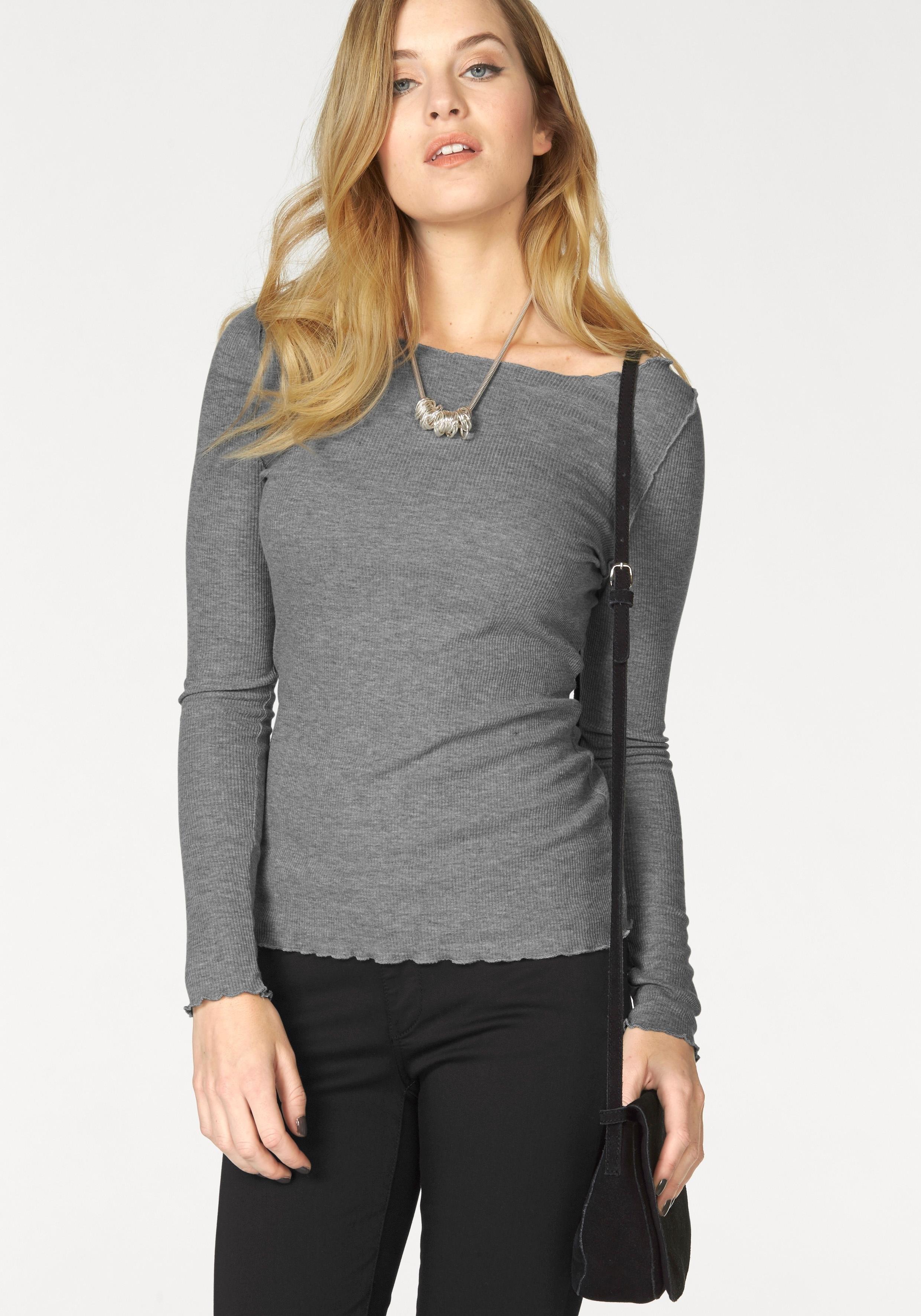 VERO MODA shirt met lange mouwen »RITA« goedkoop op otto.nl kopen