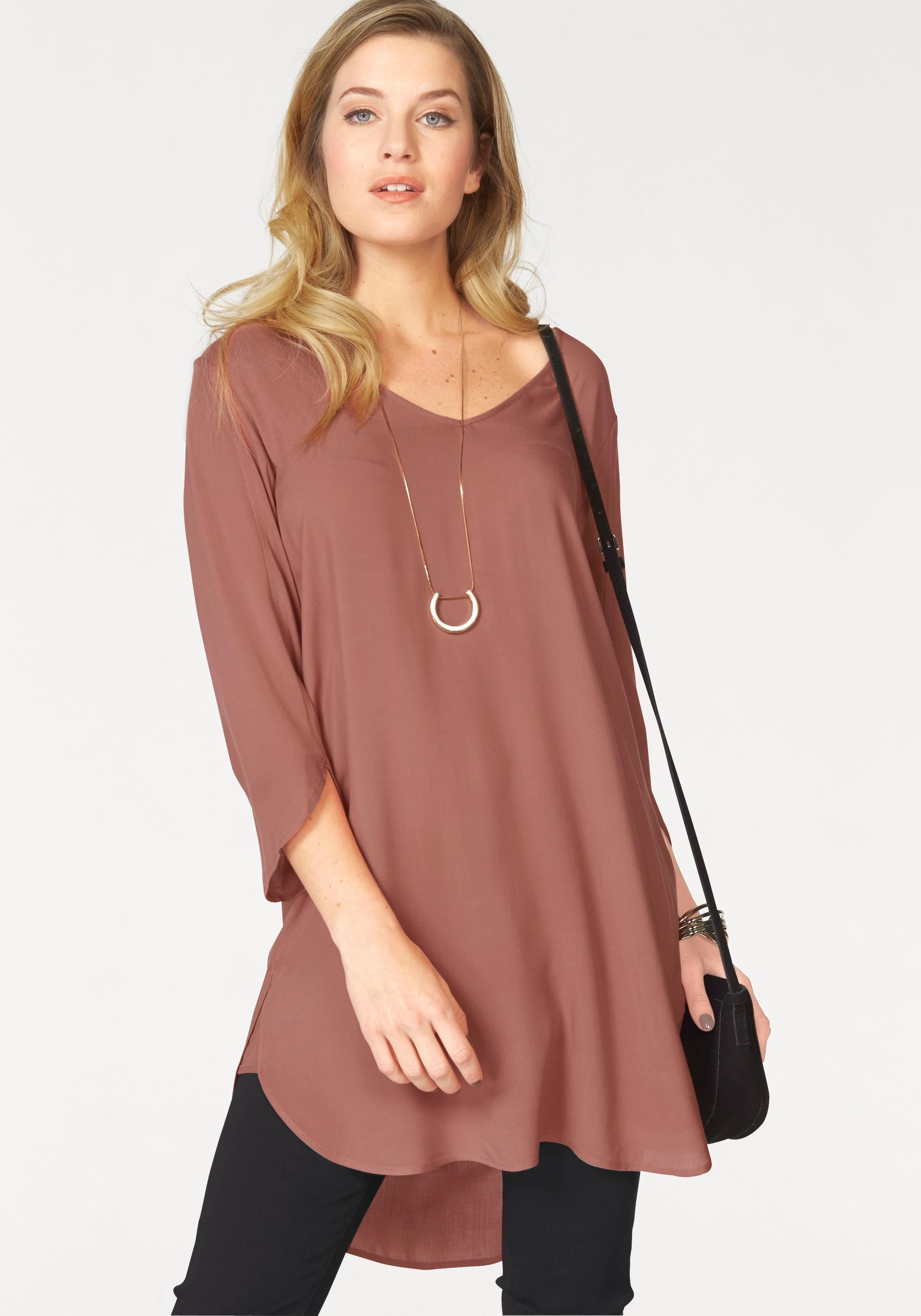 VERO MODA lange blouse »BOCA« voordelig en veilig online kopen