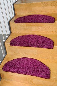 tredemat, living line, »shaggy pulpo«, geweven paars