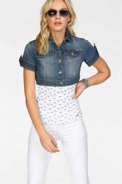 arizona jeansjack blauw