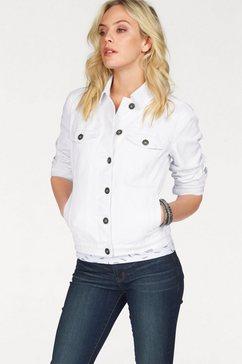 arizona jeansjack wit
