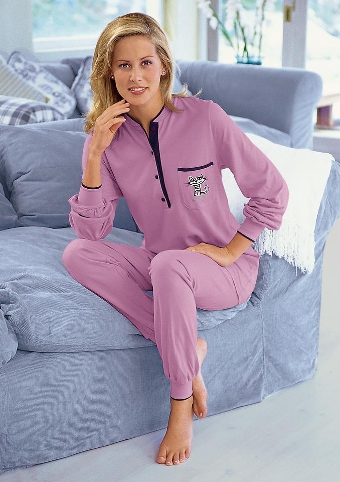 Wäschepur Pyjama, Ringella, single-jersey nu online bestellen