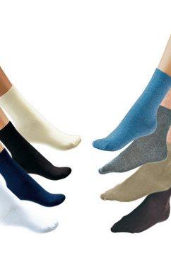 sokken, rogo, set van 2 paar beige