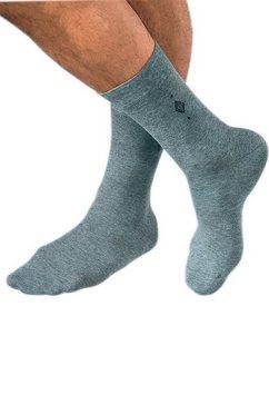 sokken, rogo, set van 2 paar grijs