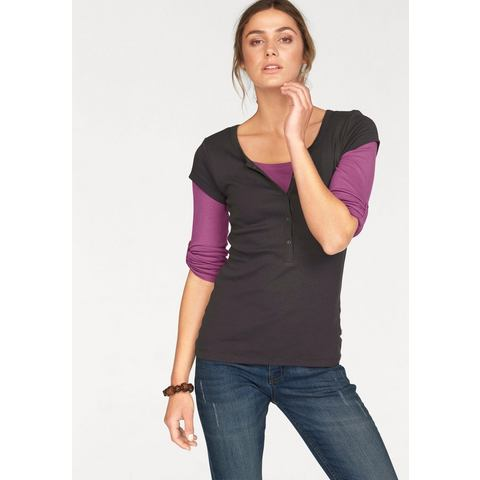 NU 15% KORTING: Flg Flashlights shirt, set van 2